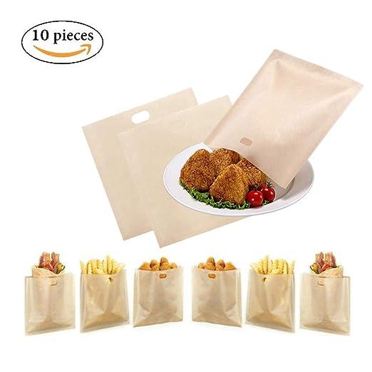Qincling - Bolsas para tostadoras (10 Unidades ...