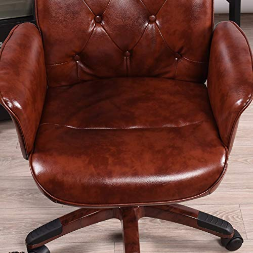 innovareds-uk Executive Chair 64 x 61.5 x 90-98 cm Office Chair Retro Vintage