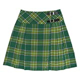 20 inch Irish Plaid Kilt Skirt Size 14
