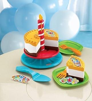 Groovy Fisher Price Servin Surprises Birthday Set Playset Cake Personalised Birthday Cards Beptaeletsinfo