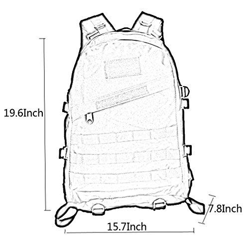 Männer Frauen Spiel Rucksack Bergsteigen Umhängetasche Wasserdichte 3D Rucksack B m0rsq