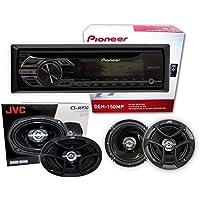 Pioneer DEH-150MP+ 1 pair JVC CS-J620 6.5 + 1 pair JVC CS-J6930 6x9