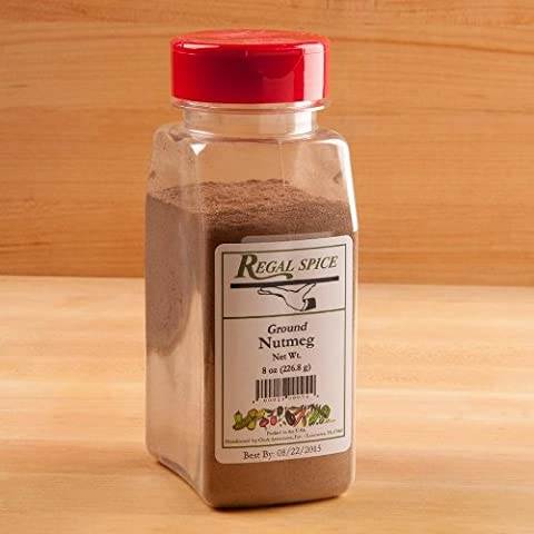 Regal Herbs, Spices, Seasoning 8 ounce (Ground Nutmeg) - Nutmeg Spice