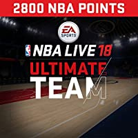 NBA Live 18: NBA18 - 2800 NUT Points Pack - PS4 [Digital Code]