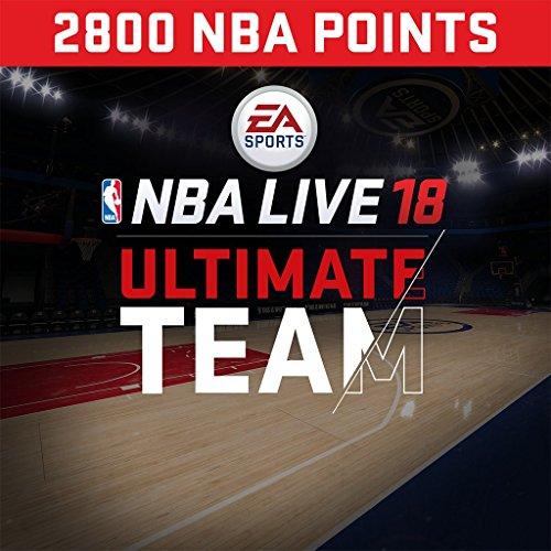 NBA Live 18: NBA18 - 2800 NUT Points Pack - PS4 [Digital Code]