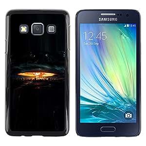 DEMAND-GO Smartphone Rígido Protección única Imagen Carcasa Funda Tapa Skin Cover Case Para Samsung Galaxy A3 SM-A300 - explosion nuclear destruction