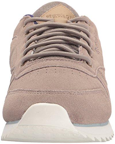Reebok Kvinnor Cl Lthr Utomhus Mode Sneaker Strand / Krita / Blå