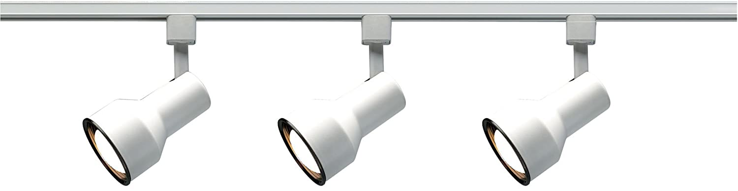 Nuvo Lighting TK320 3-Light Step-Cylinder Track-Lighting Kit White - - Amazon.com  sc 1 st  Amazon.com : white track lights - azcodes.com