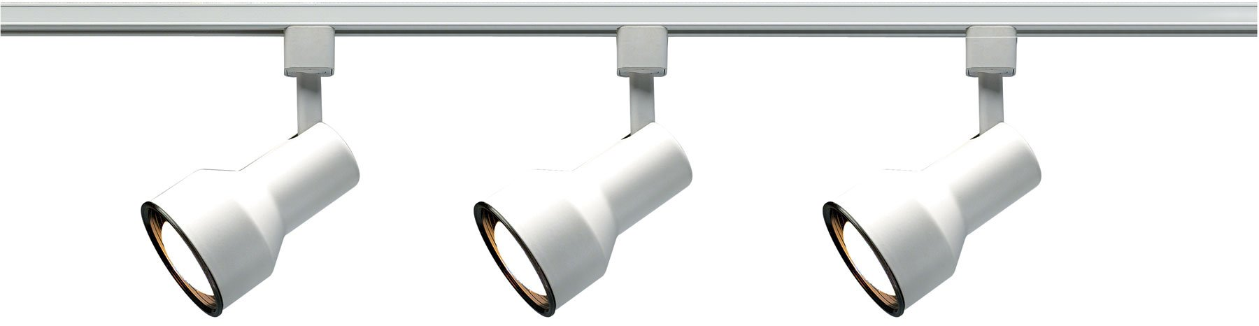 Nuvo Lighting TK320 3-Light Step-Cylinder Track-Lighting Kit, White