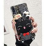 KC Cute Cartoon Lucky Bunny Face Purse Soft Bumper Silicone Shockproof Back Cover for Mi Redmi Note 10 & Mi Redmi Note…