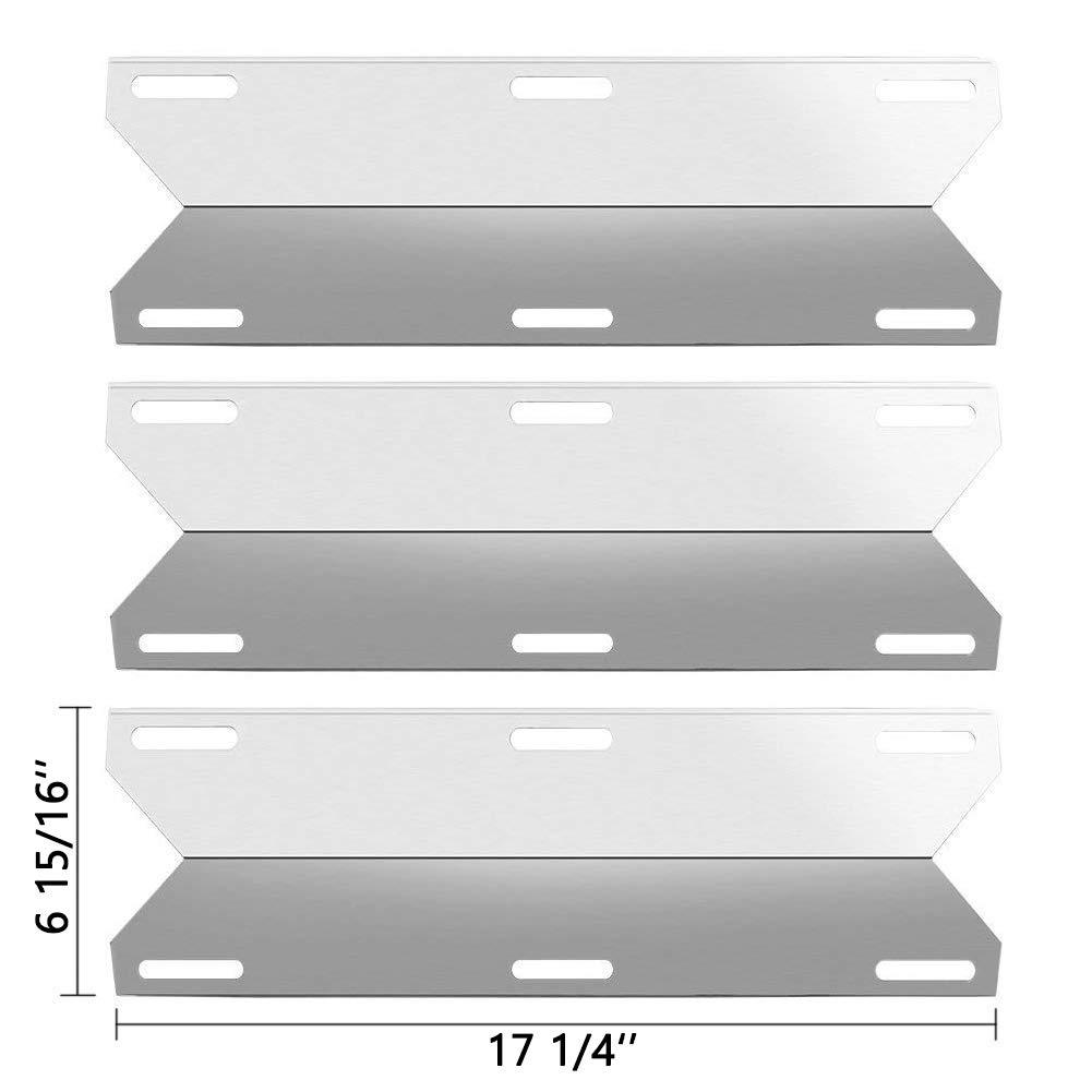 Charmglow Home Depot 3 Burner 720-0036-HD-05 Replacement Burners /& Heat Plates