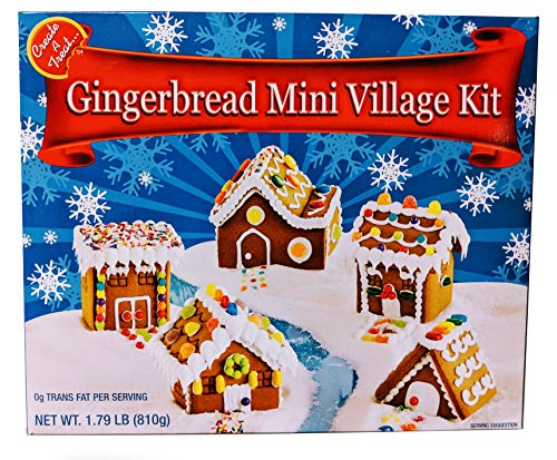 (Gingerbread Mini Village Kit)