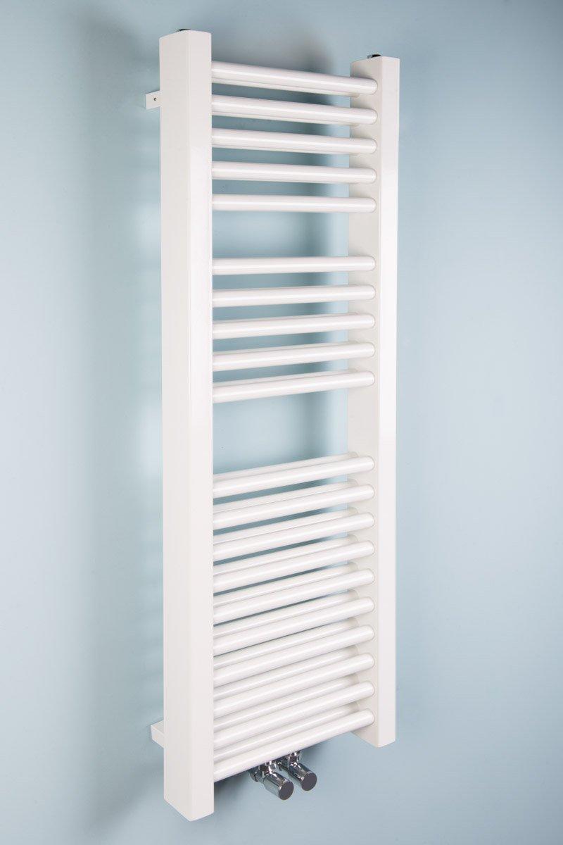 Scaldasalviette Termoarredo da Bagno 1200x400mm Bianco singolo Wärmehaus
