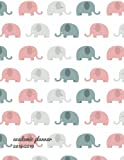 Academic Planner 2018-2019: Cute Elephant | Weekly