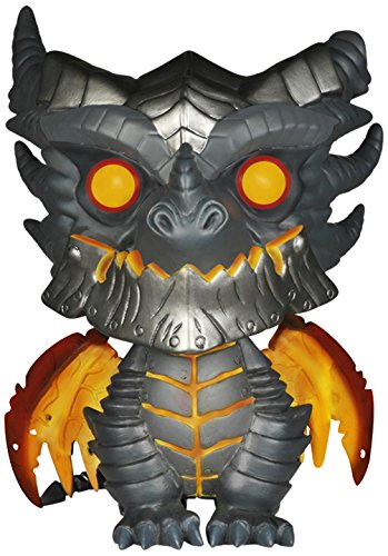 Funko Pop Games: Wow Oversized Deathwing Figure, 6″,Multi-colored