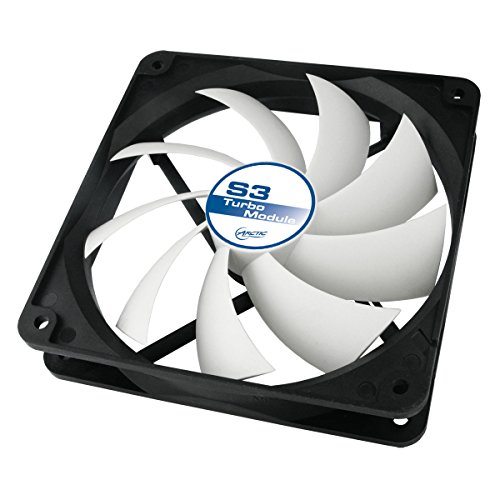 (ARCTIC S3 Turbo Module - Powerful Ventilation Add-On for Accelero S3 - 120 mm Fan for Increasing The Cooling Performance to 200 Watts - Extension Fan Graphics Card Cooler Accelero S3)