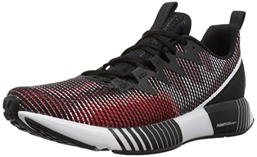 Reebok Men's Fusion FLEXWEAVE Sneaker, Black/ash Grey/White/Prime, 9.5 M US