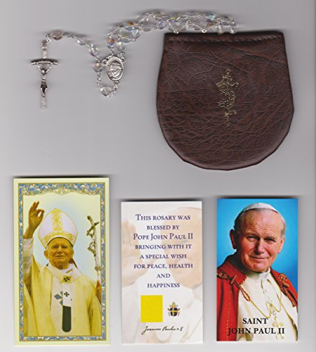 Rosary Papal Crucifix - 3