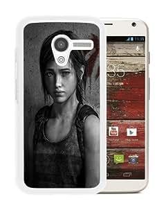 Newest Motorola Moto X Case ,The-Last-of-Us-Left-Behind White Motorola Moto X Cover Case Fashionable And Popular Designed Case Good Quality Phone Case