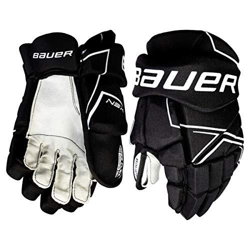 Bauer NSX Hockey Gloves (10 Inch - Black)
