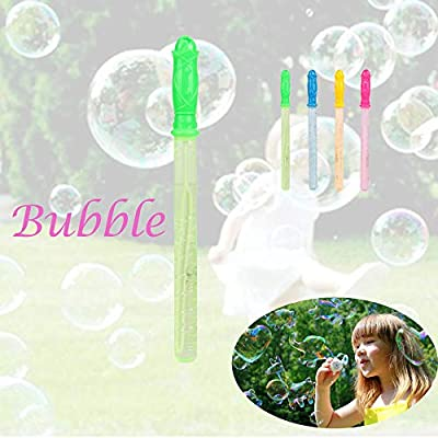 Gbell  Bubble Toys for Toddlers ,Colorful Bubble Stick,Kids Love Big Bubbles ,Indoor and Outdoor Activities,Best Birthday Gift,Early EducationalToys ,Summer Water Party Wedding: Toys & Games