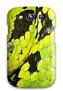 Stevenson Elizabeth's Shop Discount Galaxy S3 Case Cover Skin : Premium High Quality Deadly Snake Case 1390215K15856685