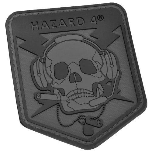Hazard 4 3D Operator Skull Morale parche Negro 4337021820