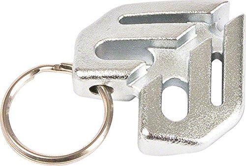 Eclat Keychain Spoke Wrench Heat Treated Chromoly For Use On 3.5mm Spoke Nipples Chrome Platedá