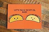 Best Boyfriend Cards - Cute Card Taco Pun, Let's Taco Bout Us Review