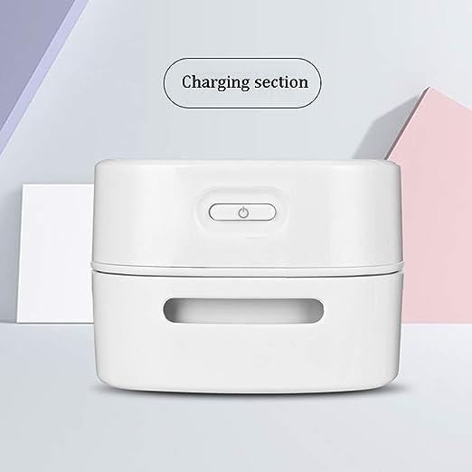 MELAG Aspiradora de sobremesa portátil,para el Coche,la Oficina,el Ordenador,el Escritorio,la Limpieza,Diseño Giratorio de 360 Grados,un Paso,Interruptor de un botón,Conveniente y rápido(Blanco): Amazon.es: Hogar