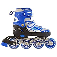 Adjustable Happy Inline Skates for Kids With Illuminating Front Wheels Durable Comfortable Rollerblades Outdoors