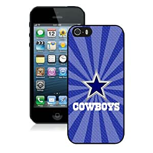 Iphone 5S Protective Skin Case Dallas Cowboys 05_iPhone 5 5S Black Phone Case Cover 21646