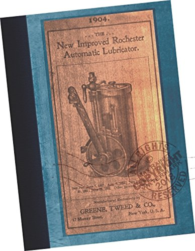 Illustrated CATALOGUE of the New Improved Rochester Automatic Lubricators for Stationary Engines, Marine Engines, Steam Pumps, Locomotive and Hydraulic Elevators 1904 (REPLICA of the original catalog, wholesale trade sales samples sold by machinery dealer