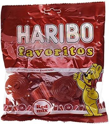 Haribo Favoritos Red Mix Geles Dulces - 275 gr - [Pack de 14 ...