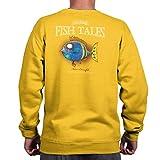 Gill McFinn Melvin's Cowardfish Fish Sporting Goods Fishing Gear Funny Sweatshirt