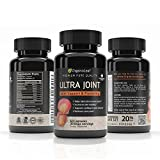 OrganoLeaf - Ultra Joint, Glucosamine, Chondroitin and MSM with Turmeric and Boswellia Extract, Natural Anti-Inflammatory and Antioxidant Promotes Joint and Cartilage Health & Flexibility, 60 Softgels