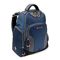 Columbia Navy Summit Rush Backpack Diaper Bag