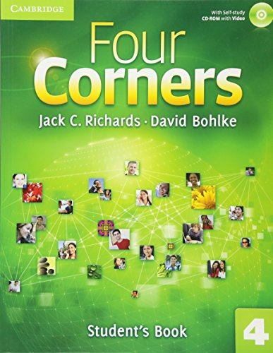 Corner English - Four Corners Level 4 Student's Book with Self-study CD-ROM