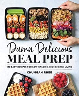 Book Cover: Damn Delicious Meal Prep: 120 Easy Recipes for Low-Calorie, High-Energy Living