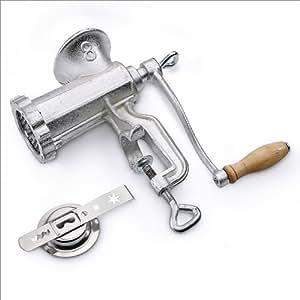Picadora de carne tamaño 8 con accesorio para formas
