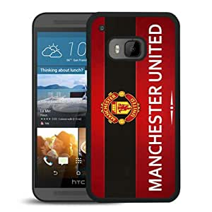 Manchester United (1) Black HTC ONE M9 Screen Phone Case High Quality Handmade Cover