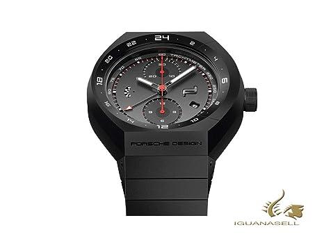 Reloj Automático Porsche Design Monobloc Actuator 24h Chrono, Titanio, Negro: Amazon.es: Relojes