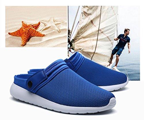De Piscina Hombres Marea Playa Antideslizantes B Para Moda Zapatillas Hombre Verano Zapatos Azules Wknbeu Sandalias pPqZ5zvU