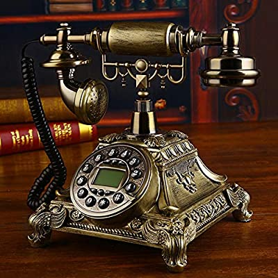 TANGADYL Archaic gsm 900 - Teléfono inalámbrico con Tarjeta SIM (800 MHz, teléfono inalámbrico, teléfono Fijo para el hogar o la Oficina), Color marrón: Amazon.es: Hogar