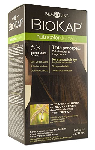 Biokap Permanent Hair Dye Dark Golden Blonde 6 3 4 67