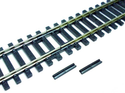 (Hornby R920 Insulated Rail Joiners (Fishplates) HO/OO Gauge (12-Pack))