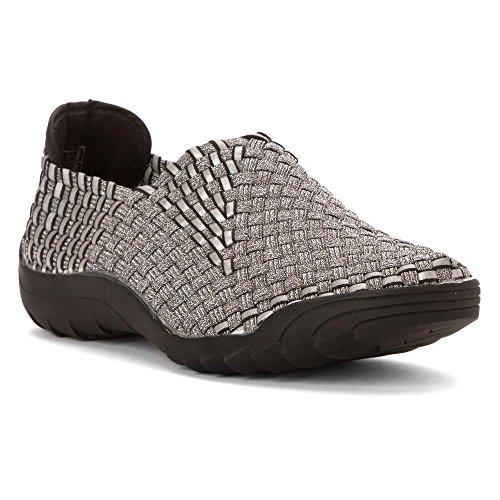 Bernie Mev Victoria Sneaker Dames Zwart / Zwart Reflecterend