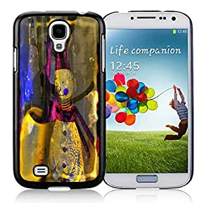 linJUN FENGProvide Personalized Customized Samsung S4 TPU Protective Skin Cover Christmas Snowman Black Samsung Galaxy S4 i9500 Case 2