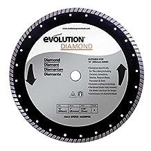 Evolution Power Tools 14BLADEDM 14-Inch Diamond Masonry Blade with 1-Inch Arbor