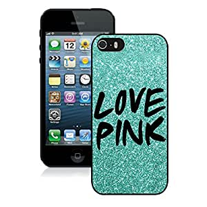 Popular iPhone 5 5S Case ,Unique And Lovely Designed With Victoria's Secret Love Pink 11 Black iPhone 5 5S High Quality Cover